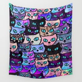 Cats New colour 199 Wall Tapestry