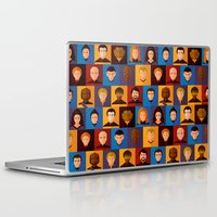 picard Laptop & iPad Skins featuring STARFLEET by badOdds