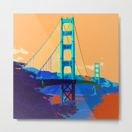 Golden_Gate_Bridge_010 Metal Print
