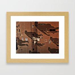 Cairo Ghosts Framed Art Print