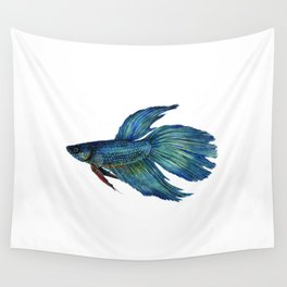 Mortimer the Betta Fish Wall Tapestry