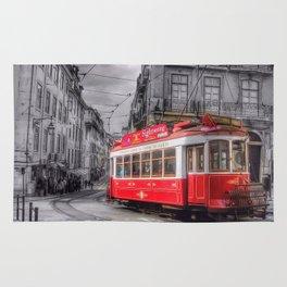 Streets of Lisbon - Artistic Rendering Rug