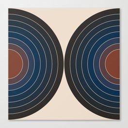 Sonar - Dusk Canvas Print