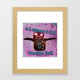 Voodoo Doll Framed Art Print