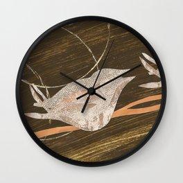Birds Resting Wall Clock