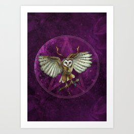 Magic Traveler Art Print
