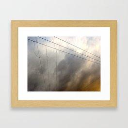 Wiry Sky Framed Art Print
