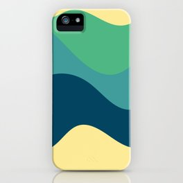 Sense of movement - Summer iPhone Case