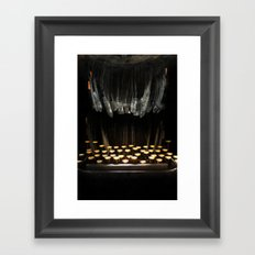 The Teethwriter Framed Art Print