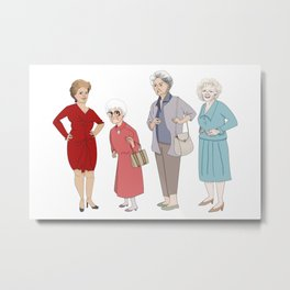Golden Girls Metal Print