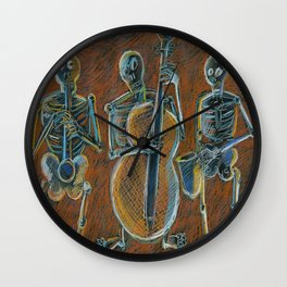 Jazz Time With The Bonz Band Wall Clock