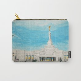 Reno Nevada LDS Temple Painting Carry-All Pouch