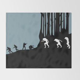 DOG SOLDIERS Throw Blanket
