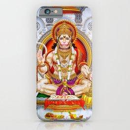 Hindu Hanuman Monkey God 5 iPhone Case