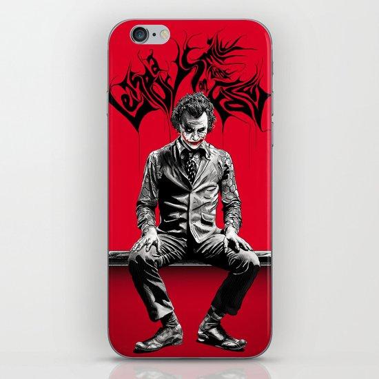 JOKER poster iPhone & iPod Skin