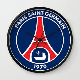 PSG paris saint-germain Wall Clock