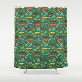 Salamanders Shower Curtain