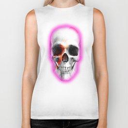 Bowie Skull Biker Tank