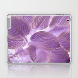 Flower   Flowers   Lavender Purple Glowing Hosta Laptop & iPad Skin