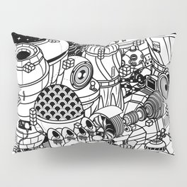 Dark Matter Space Machine Pillow Sham
