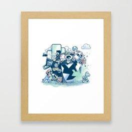 Katamario Framed Art Print