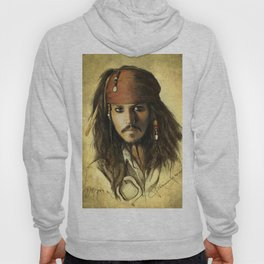 Portrait of a pirate Hoody