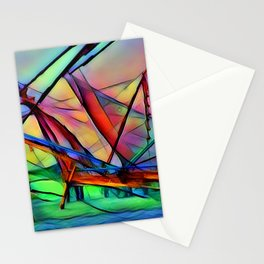 Ship Sail Stationery Cards