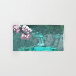 Koi Pond Hand & Bath Towel