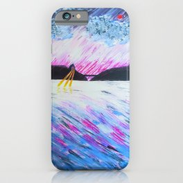 the upper lake iPhone Case