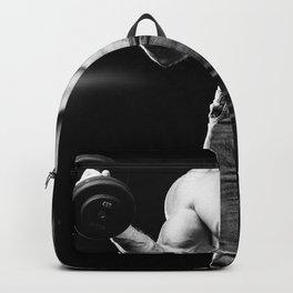 muscular male bodybuilder Backpack