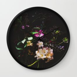 Foraged Florals Wall Clock
