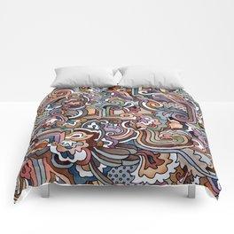 Rayas y rulos Comforters