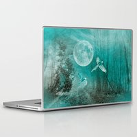 ellie goulding Laptop & iPad Skins featuring FOREST DREAMING by Catspaws