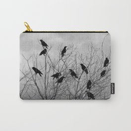Murder Of Crows - Three Carry-All Pouch