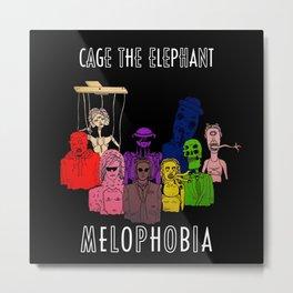 Melophobia Metal Print