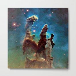 Eagle Nebula's Pillars Metal Print