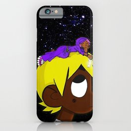 Luv vs The World iPhone Case
