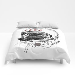 laika, space traveler Comforters