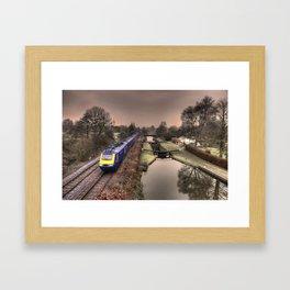 Winter at Little Bedwyn  Framed Art Print