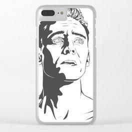 Tom Hiddleston as Coriolanus Clear iPhone Case