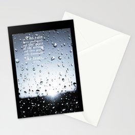 Rain  Stationery Cards