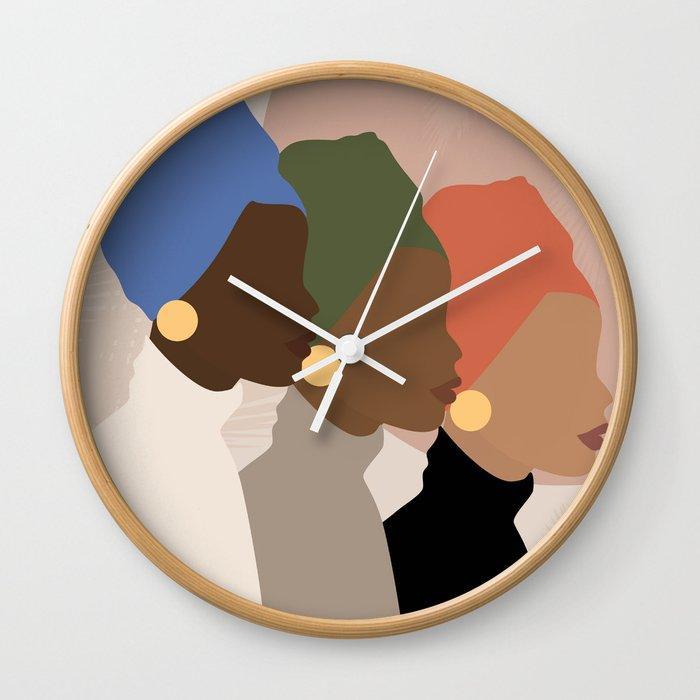 Homebound Wall Clock