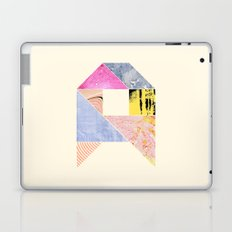 Collaged Tangram Alphabet - A Laptop & iPad Skin