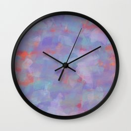Paint Strokes One Wall Clock