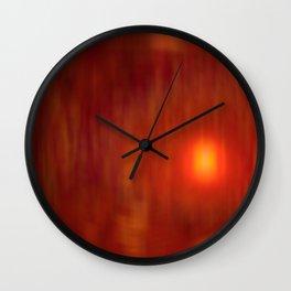 Epoch Sunset Wall Clock