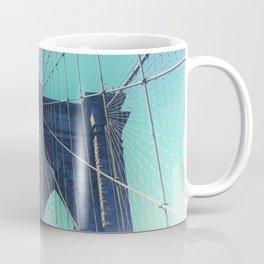 BROOKLYN BRIDGE - VINTAGE - FADED Coffee Mug