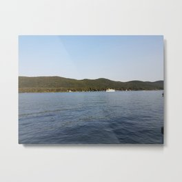 Lazy days on the lake Metal Print