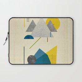 Triangle polygon minimal design poster print Laptop Sleeve