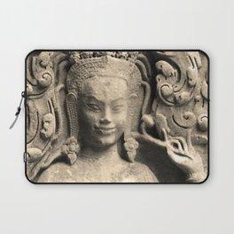 Pattern of Angkor wat Laptop Sleeve