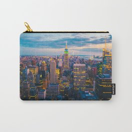 New York City, Manhattan at night Carry-All Pouch